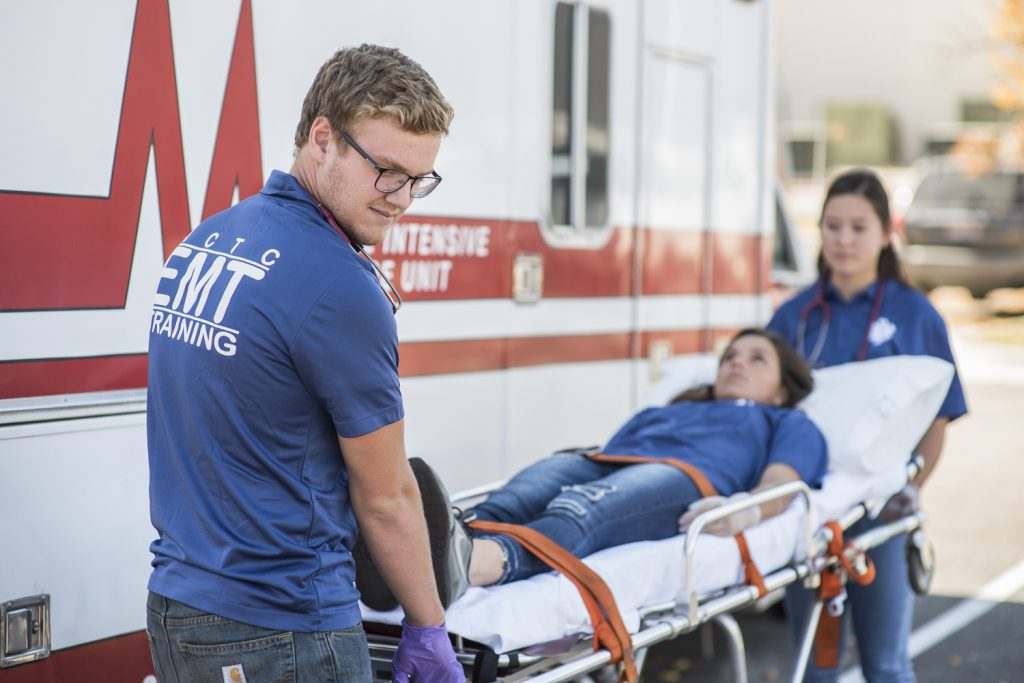 EMT Students