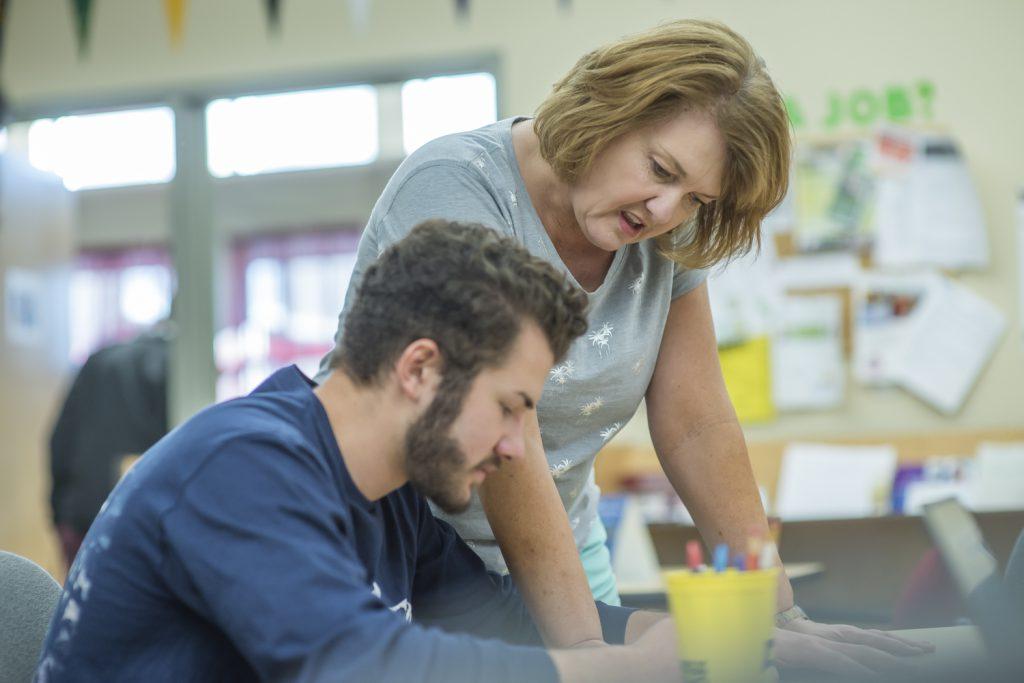 CTE Teacher and Student